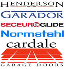 garador henderson normstahl and cardale garage doors bury